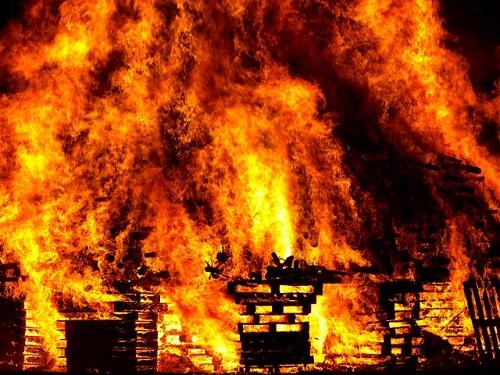 スピリチュアル 火事 意味