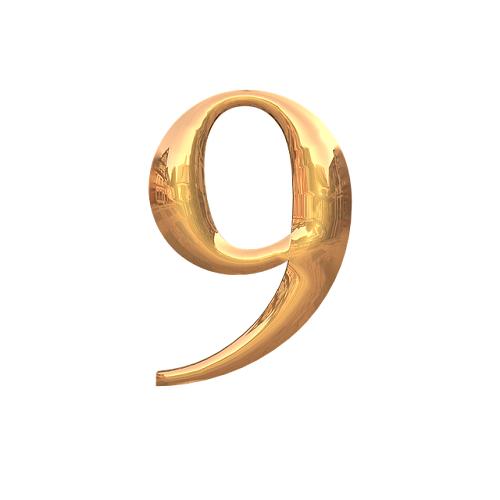 スピリチュアル ナンバー 9