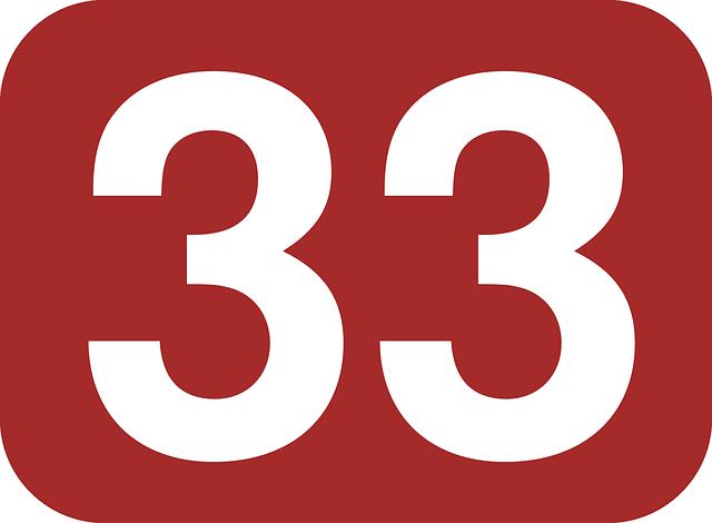 スピリチュアル ナンバー 33
